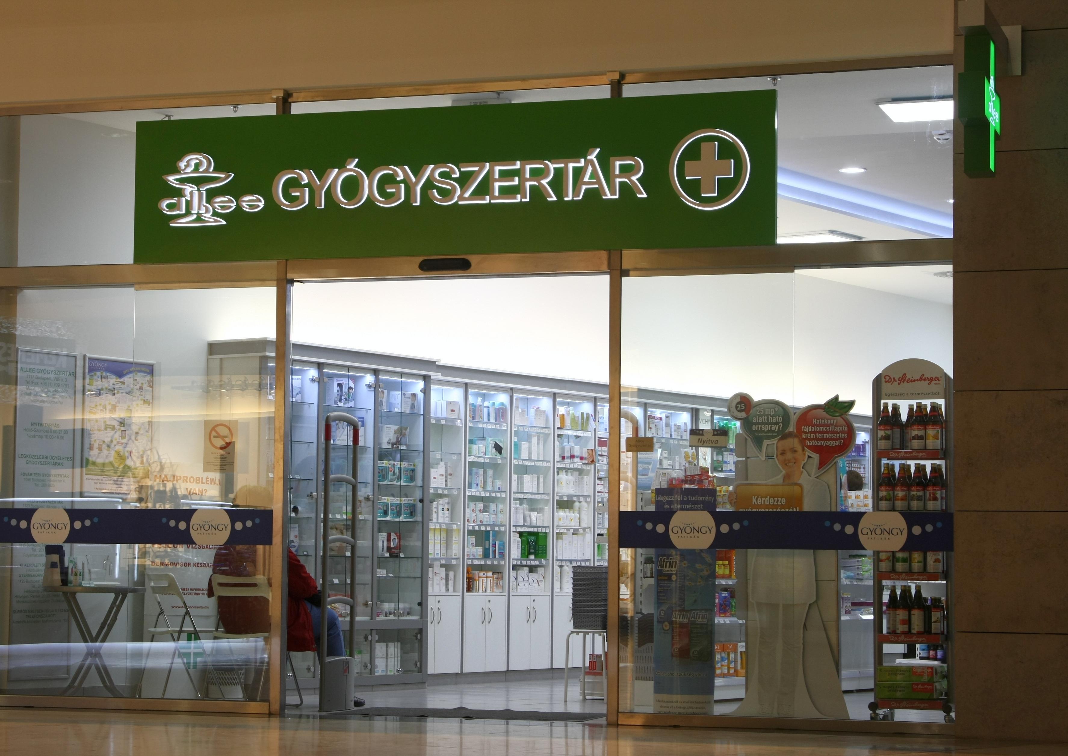Allee gyógyszertár